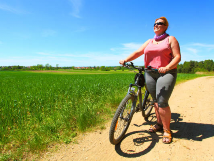 olahraga bersepeda untuk orang gemuk